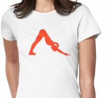 Yoga yogi Womens Fitted T-Shirt