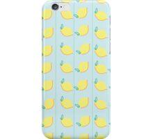 Lemon Stripe  iPhone Case/Skin