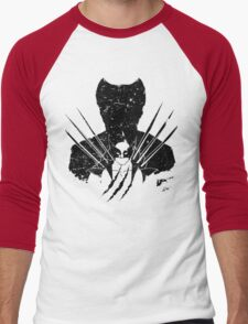 Adamantium Shadow Men's Baseball ¾ T-Shirt