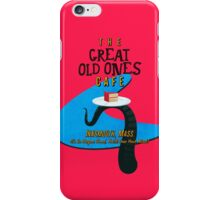 Great Old Ones Cafe (Redesign) iPhone Case/Skin