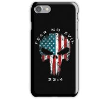American Punisher - Fear No Evil iPhone Case/Skin