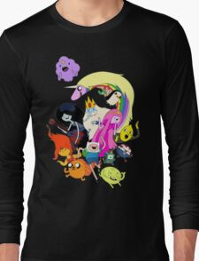Adventure Time Character RC Long Sleeve T-Shirt