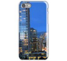 Vancouver skyline iPhone Case/Skin