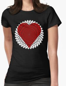 Spirally Arrows! Womens Fitted T-Shirt