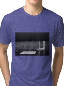Chicago Pier at Night Tri-blend T-Shirt