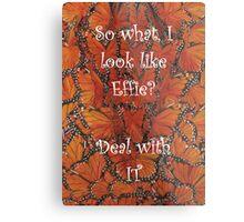 The Hunger Games - Effie Trinket Metal Print