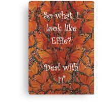The Hunger Games - Effie Trinket Canvas Print