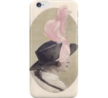 Vintage Portrait iPhone Case/Skin