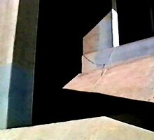 Bridge Abstract 1 by bluerabbit