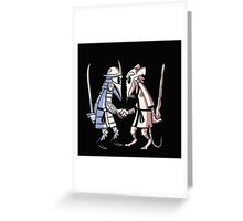 DUEL : FIGHT FOR YOUR HONOR Greeting Card