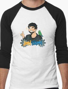 JonTron and his Trusty Sidekick! Men's Baseball ¾ T-Shirt