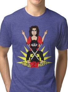 Rock on, Ninja Sex Party! Tri-blend T-Shirt