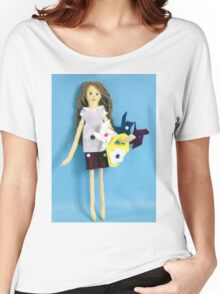 Moria and The Pinwheels Women's Relaxed Fit T-Shirt
