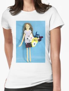Moria and The Pinwheels Womens Fitted T-Shirt