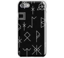 Runes Of Mystery iPhone Case/Skin