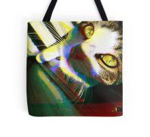That's One Glitchin' Kitty Tote Bag