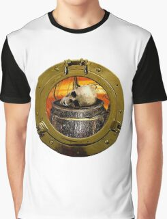 Piracy At Rest Graphic T-Shirt
