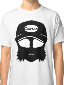 Cooter, White on black Classic T-Shirt