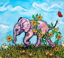 Pinky Picks A Flower by Rachelle Dyer