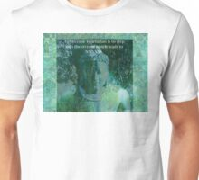 Vegetarian Quote Buddha nature Unisex T-Shirt
