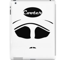 Cooter black on white iPad Case/Skin