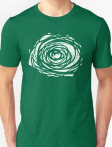 Abstract Flower Inversion Unisex T-Shirt
