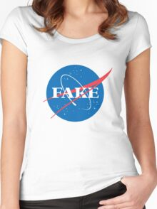 FAKE Women's Fitted Scoop T-Shirt