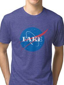FAKE Tri-blend T-Shirt