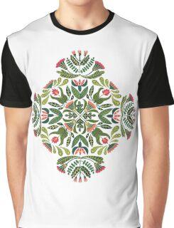 Little red riding hood - mandala pattern Graphic T-Shirt