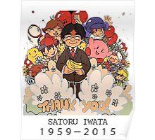 R.I.P Satoru Iwata Poster