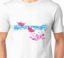 Paper Boats Unisex T-Shirt