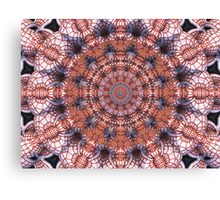 Red Ink Wheel Canvas Print