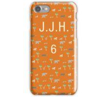 Pattern JJH 6 Darjeeling Limited & Hotel Chevalier iPhone Case/Skin