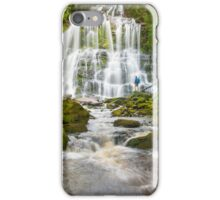 Nelson Falls in Tasmania iPhone Case/Skin