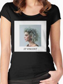 Saint Vincent Women's Fitted Scoop T-Shirt