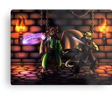Dungeons Metal Print