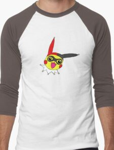 Pika Quinn Men's Baseball ¾ T-Shirt