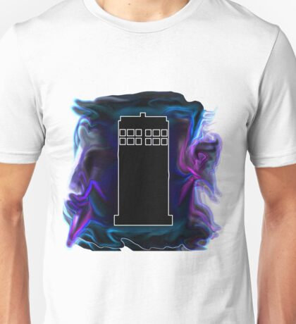 The Black Tardis Unisex T-Shirt