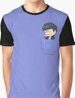 Pocket Karamatsu Graphic T-Shirt