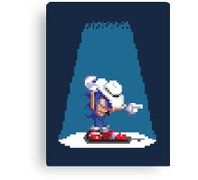 Sonic In Moscow Canvas Print