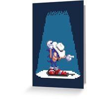 Sonic In Moscow Greeting Card