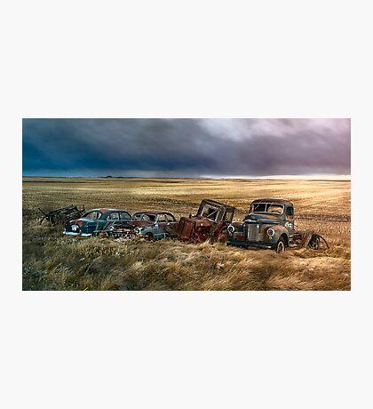 Prairie Drive-In Photographic Print
