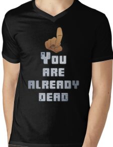 Quotes and quips - you are already dead Mens V-Neck T-Shirt