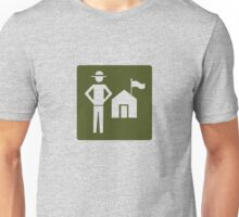 Outdoor Recreational Park Ranger Road Sign Unisex T-Shirt