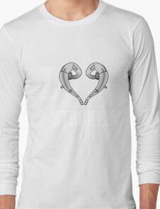 i love 2 stroke white Long Sleeve T-Shirt