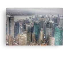 Manhattan New York City cityscape Metal Print