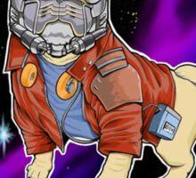 Star Pug Sticker