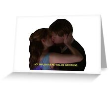 Jim and Pam Kiss Greeting Card