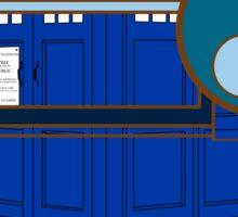 Blue Box Sticker
