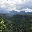 Color Photo of Box Car Canyon and Mount Hesperus by Marcie Alban